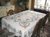 Click to view larger image of Embroidered Linen Tablecloth w/Napkins (Image3)