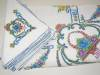 Click to view larger image of Embroidered Linen Tablecloth w/Napkins (Image4)