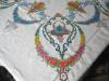 Click to view larger image of Embroidered Linen Tablecloth w/Napkins (Image5)
