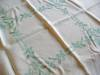 Click to view larger image of Vintage Square Linen Tablecloth  (Image5)