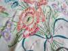 Click to view larger image of Peach Flowers Cotton Tablecloth (Image2)