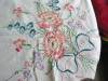 Click to view larger image of Peach Flowers Cotton Tablecloth (Image3)