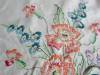 Click to view larger image of Peach Flowers Cotton Tablecloth (Image7)