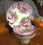 Click here to enlarge image and see more about item teacup60509: Royal Halsey Lustre Teacup