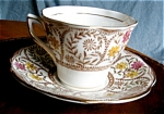 Click here to enlarge image and see more about item teacup704262: Vintage Rosina Bone China Teacup