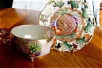Royal Sealy Footed Fruit Teacup