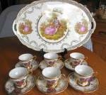 Click to view larger image of Wales Vintage Demitasse Teacup Set (Image2)