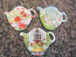 Click to view larger image of Tea Bag Coasters & Strainers (Image2)