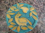 Click here to enlarge image and see more about item tile070911: Gretchen Kramp Art Pottery Tile