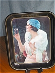 Click here to enlarge image and see more about item tin02031: Collectible Vintage Coca Cola Tray