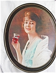 Click here to enlarge image and see more about item tin03032: Coca Cola Vintage Tray