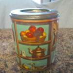 Click here to enlarge image and see more about item tin0712c: Vintage Kitchen Tin