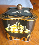 Click here to enlarge image and see more about item tin30825: Collectible West German Tin