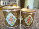 Click to view larger image of Daher Vintage Tin Cannister Trio (Image5)