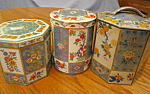 Click here to enlarge image and see more about item tins120606:  Vintage Tins Collectible Blue
