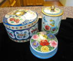 Click to view larger image of Assorted Vintage Tins (Image2)