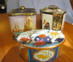 Click here to enlarge image and see more about item tins60509: Vintage Tin Assortment