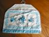 Click to view larger image of Vintage Linen Coffee and Teapot Cover and Towel (Image3)