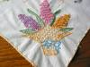 Click to view larger image of Vintage Fruit Basket Cotton Tablecloth (Image3)