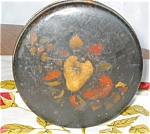 Antique Toleware Tin