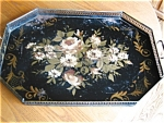 Click to view larger image of Antique Toleware Tray (Image1)