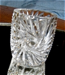 Click here to enlarge image and see more about item toothpick100532: Vintage Glass Toothpick Holder
