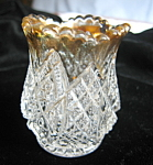 Click here to enlarge image and see more about item toothpick102106: Antique Duncan and Miller Toothpick Holder