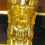 Click here to enlarge image and see more about item toothpk11032: Vintage Thumbprint Toothpick Holder