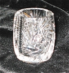 Click here to enlarge image and see more about item tpix01031: Vintage Crystal Hobstar Toothpick