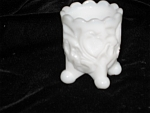 Click here to enlarge image and see more about item tpix01032: Kanawha Toothpick Holder Strawberry
