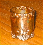 Vintage Glass Toothpick Holder