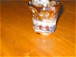 Click here to enlarge image and see more about item tpix12023: Imperial Slag Glass Toothpick