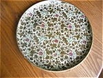 Click here to enlarge image and see more about item tray70522: Vintage Paper Mache Japan Tray