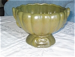 Click to view larger image of Vintage Green Urn Vase (Image1)