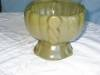 Click to view larger image of Vintage Green Urn Vase (Image3)