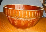 Click here to enlarge image and see more about item usabr1504: Large  Vintage USA Picket Fences Mixing Bowl
