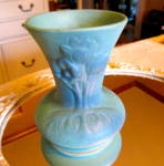 Click here to enlarge image and see more about item vanbriggle1016: Van Briggle Vintage Flower Vase