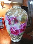 Click here to enlarge image and see more about item vase20832: Large Antique Porcelain Vase Nippon?