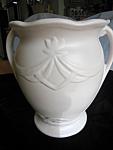 Vintage Ransbottom Vase Matte White