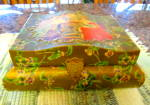 Click here to enlarge image and see more about item victorianbox100310: Victorian Hanky Box