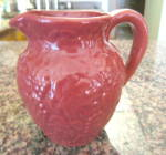Click to view larger image of Art Pottery Vintage Pitcher (Image6)