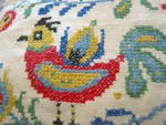 Click to view larger image of Needlework Vintage Pillow (Image2)