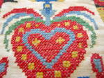 Click to view larger image of Needlework Vintage Pillow (Image4)
