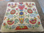 Click to view larger image of Needlework Vintage Pillow (Image5)