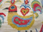 Click to view larger image of Needlework Vintage Pillow (Image6)