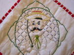 Click to view larger image of Vintage Lady & Gent Potholders (Image3)
