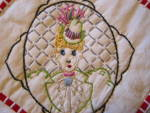 Click to view larger image of Vintage Lady & Gent Potholders (Image4)