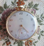 Click to view larger image of Vintage Elgin Pocket Watch - Henry Ford Signed (Image5)