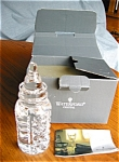 Click here to enlarge image and see more about item waterford10429: Waterford Crystal Millenium Baby Bottle