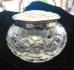 Click here to enlarge image and see more about item waterfordbox7013: Vintage Waterford Crystal Dresser Box